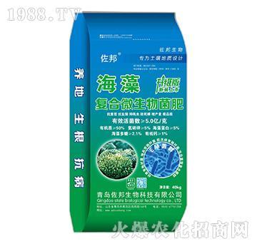 海藻复合微生物菌肥-佐邦