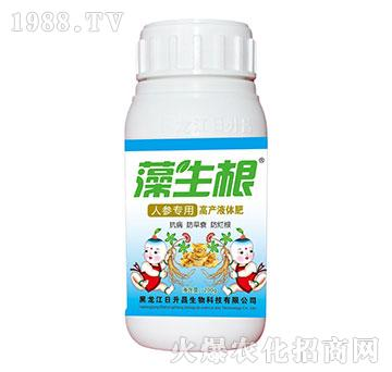 藻生根人参专用高产液体肥-日升昌