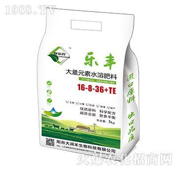 大量元素水溶肥料16-8-36+TE-乐丰-大润禾