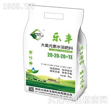 大量元素水溶肥料20-20-20+TE-乐丰-大润禾