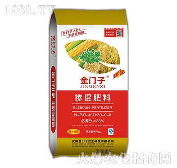 金门子掺混肥料30-0-6-金门子