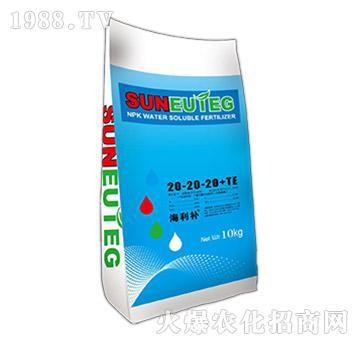 海利补大量元素水溶肥料20-20-20+TE-农利股份