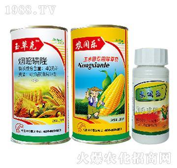 40克升烟嘧磺隆悬浮剂-玉草克+农闲乐-绿源生物