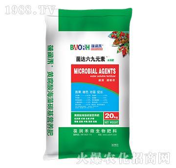 黄腐酸海藻碳基营养肥-菌达六九元素-葆润禾-绿曼生物
