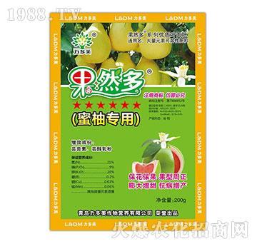 蜜柚专用大量元素水溶肥-果然多-农圣人