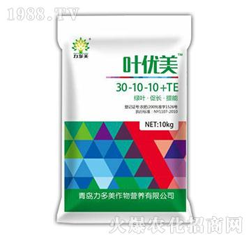 大量元素水溶肥30-10-10+TE-叶优美-农圣人