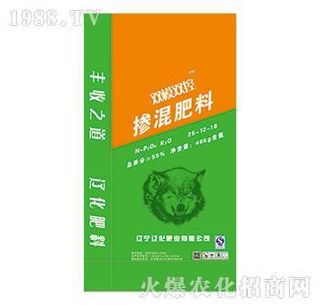 双膜双控掺混肥料25-12-18-辽化肥业