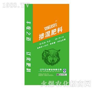 双膜双控掺混肥料28-15-12-辽化肥业