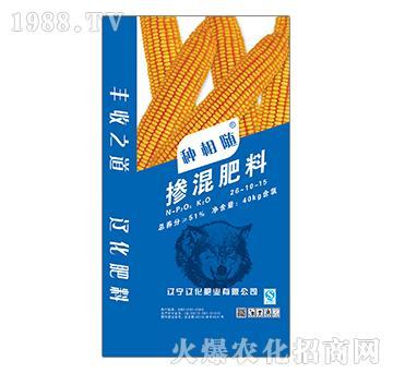 掺混肥料26-10-15-种相随-辽化肥业