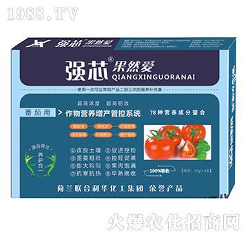 番茄用强芯果然爱叶面肥