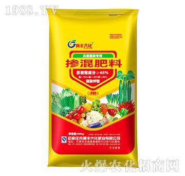 掺混肥料15-10-20(瓜果蔬菜专用)-冀丰大化