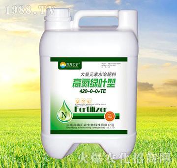 高氮绿叶型大量元素水溶