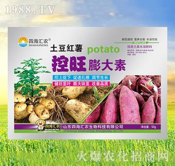 土豆红薯控旺膨大素-四