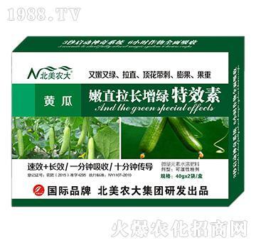 黄瓜嫩直拉长增绿特效素