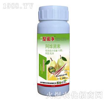 梨虱净1.8%阿维菌素