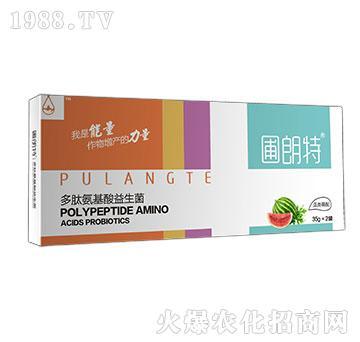 瓜类需配-多肽氨基酸益生菌-圃朗特