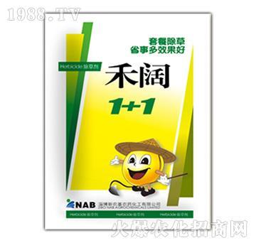 10%精喹禾灵乳油+15%乙羧氟草醚乳油-禾阔1+1-新农基