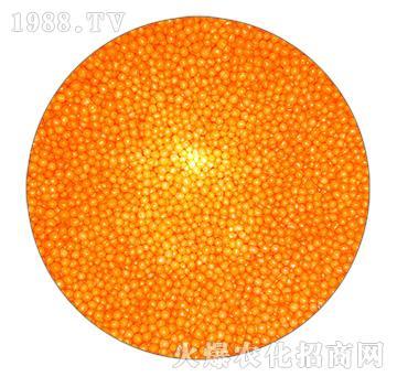 橘黄色树脂包膜尿素-忠农肥业