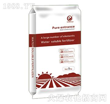 纯进口大量元素水溶肥(红)-日正农科