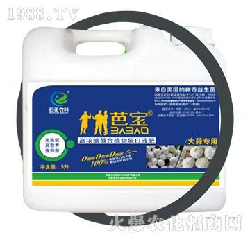 大蒜专用(桶)-高浓缩螯合植物蛋白液肥-日正农科