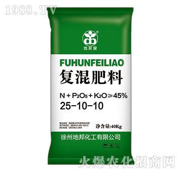 复混肥料25-10-1