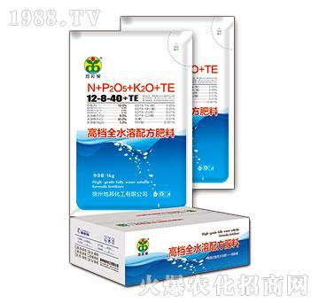 高档全水溶配方肥料12-8-40+TE-地邦泉