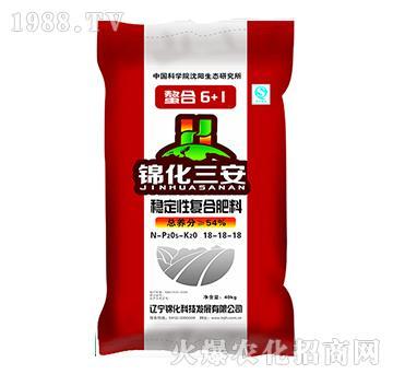 稳定性复合肥料18-18-18-锦化三安-锦化科技