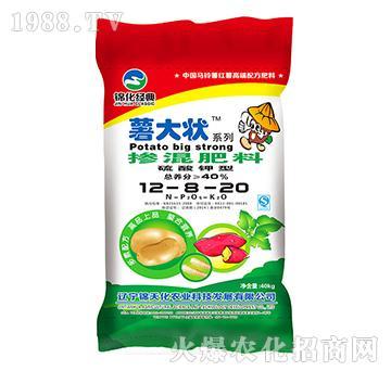 掺混肥料12-8-20-薯大状-锦化科技