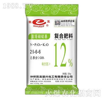 高塔硝硫基复合肥料26-6-6-凯龙楚兴