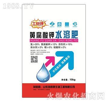 黄腐酸钾水溶肥-土炮弹-地速康