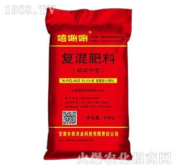 硫酸钾型复混肥11-11-8-嘻唰唰-丰田农业