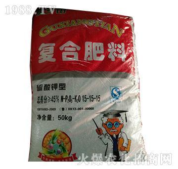 硫酸钾型复合肥料15-15-15-益生源