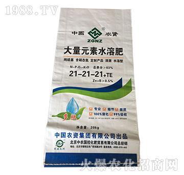 大量元素水溶肥料21-21-21+TE-益生源