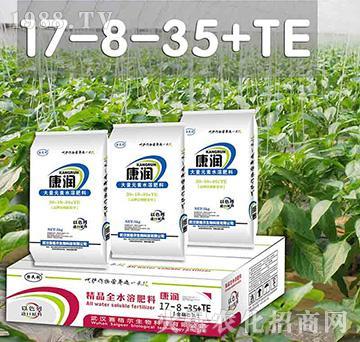 康润高钾膨果型大量元素水溶肥17-8-35+TE-赛格尔
