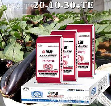 博雅高钾膨果型大量元素水溶肥20-10-30+TE-赛格尔