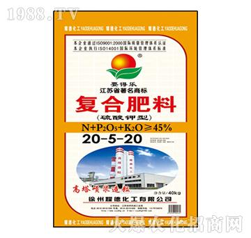 复合肥料20-5-20