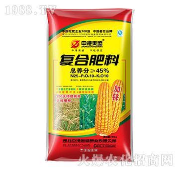 40kg复合肥料25-10-10-中港美盛