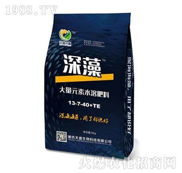 深藻大量元素水溶肥料13-7-40+TE-天盛生物