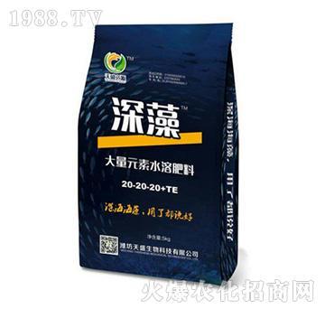 深藻大量元素水溶肥料20-20-20+TE-天盛生物