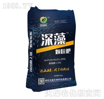深藻颗粒肥(袋)-天盛生物