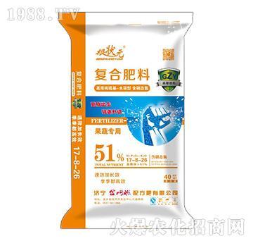 51%果蔬专用复合肥料17-8-26-根状元-金网联