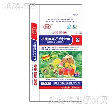 核桃板栗果树专用掺混肥20-5-10-美科嘉农