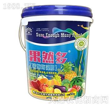 碳酶海藻肥-果然多-农圣人