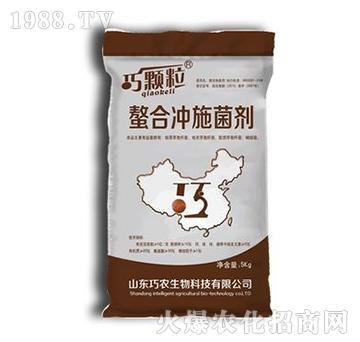 螯合冲施菌剂-巧颗粒-巧农生物