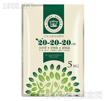 大量元素水溶肥20-20-20+TE
