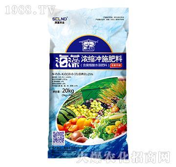 海藻浓缩冲施肥10-0-15