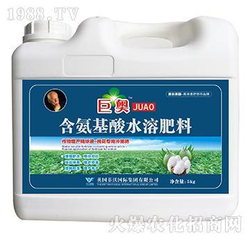 棉花专用冲施肥-含氨基酸水溶肥料-巨奥