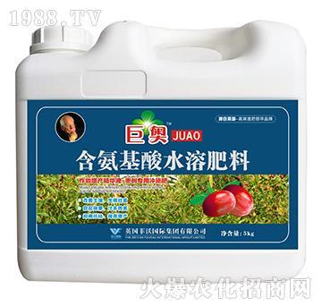 枣树专用冲施肥-含氨基酸水溶肥料-巨奥