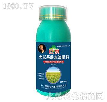水稻专用-含氨基酸水溶肥料-巨奥