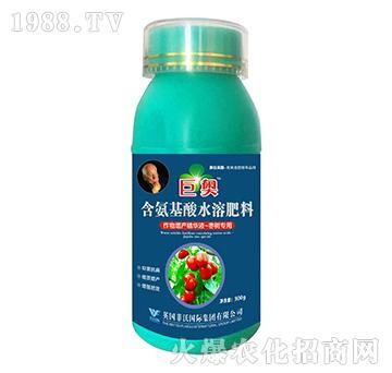 枣树专用-含氨基酸水溶肥料-巨奥